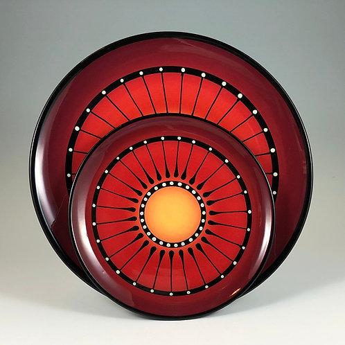 Black Stripe Plate Style #4