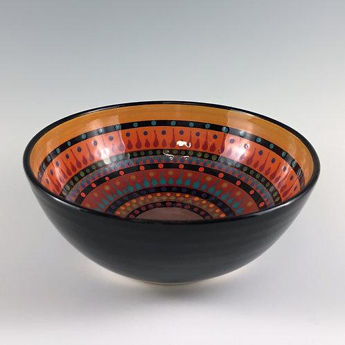 "6"" Multi Stripe Bowl"