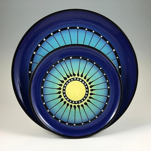 Black Stripe Plate Style #3