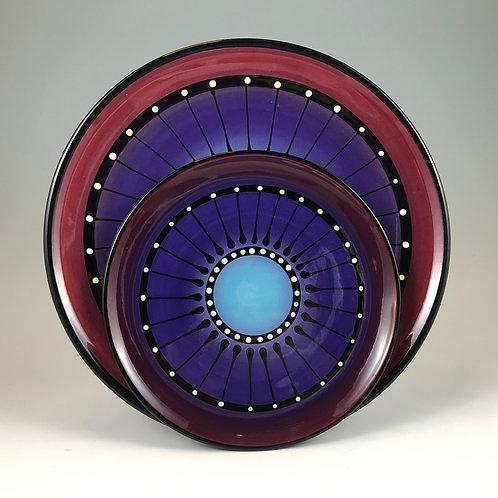 Black Stripe Plate Style #7