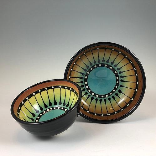 Black Stripe Bowl Style #8
