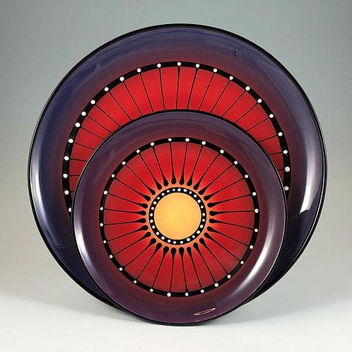 Black Stripe Plate Style #6