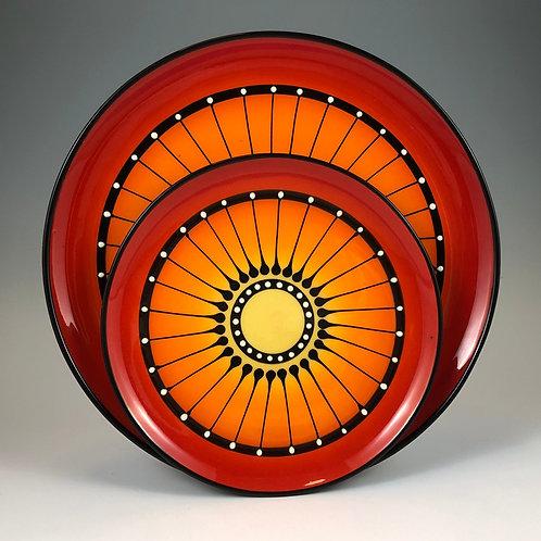 Black Stripe Plate Style #11