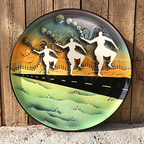 """14"""" Big Ass Dancer Platter"""