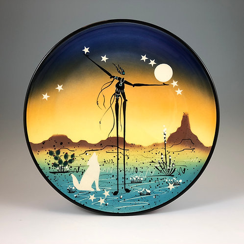 Coyote Howls Plate