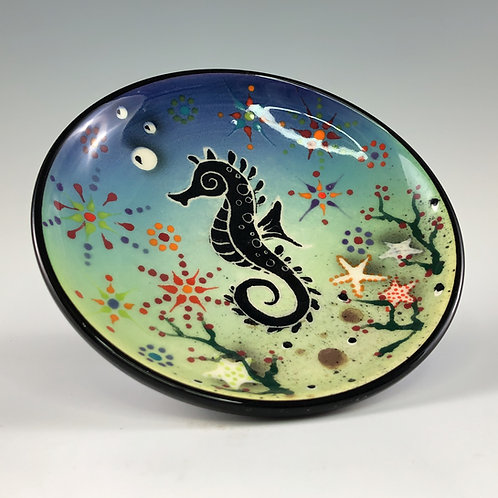 Sea Horse Decorative Dish