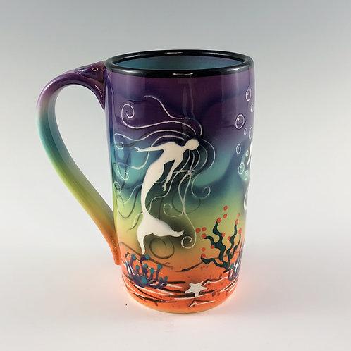 Mermaid Beer Mug