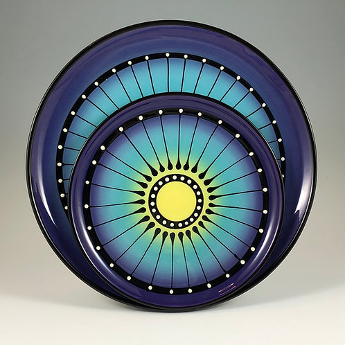 Black Stripe Plate Style #5