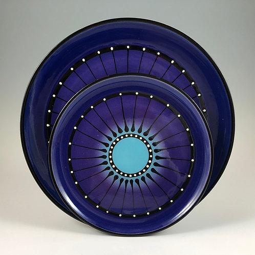 Black Stripe Plate Style #2