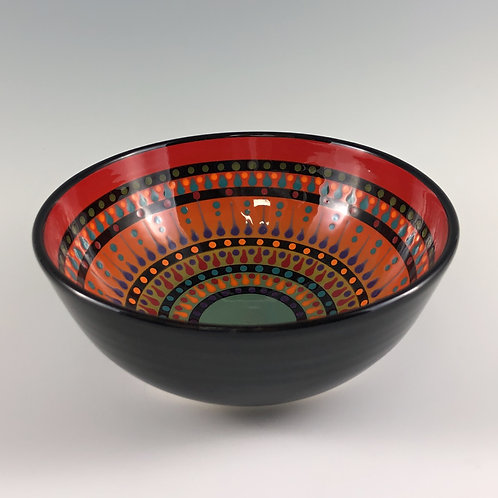 "6"" Multi Stripe Bowl"