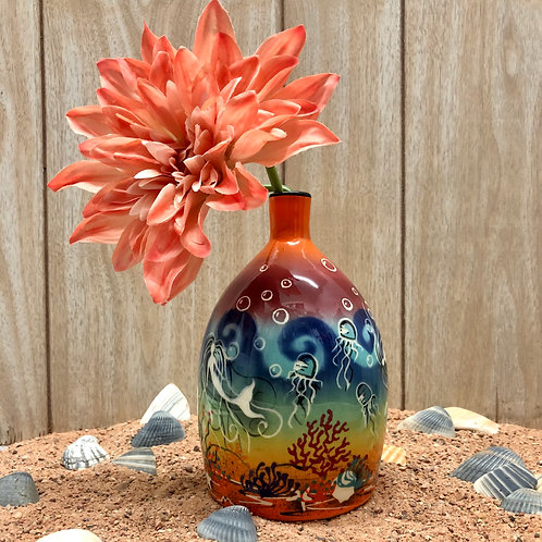 "Mermaid 7"" Vase"