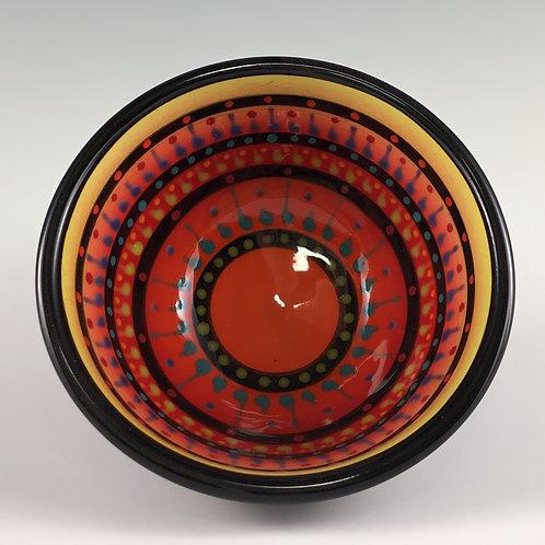 "4"" Multi Stripe Bowl"