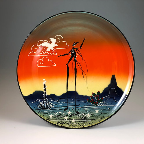 Animal Spirits in the Clouds Plate