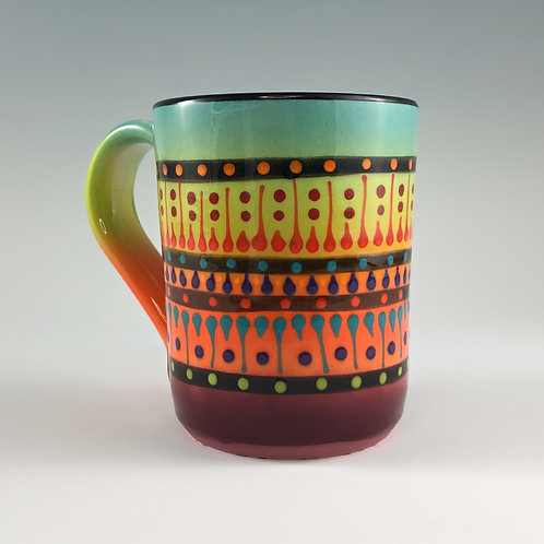 Multi Stripe Mug