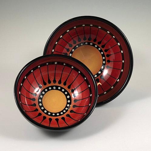 Black Stripe Bowl Style #4