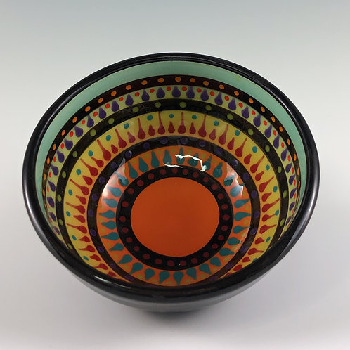 "4"" Multi Stripe Bowl"