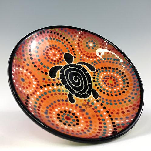 Tribal Turtle Decorative Dish