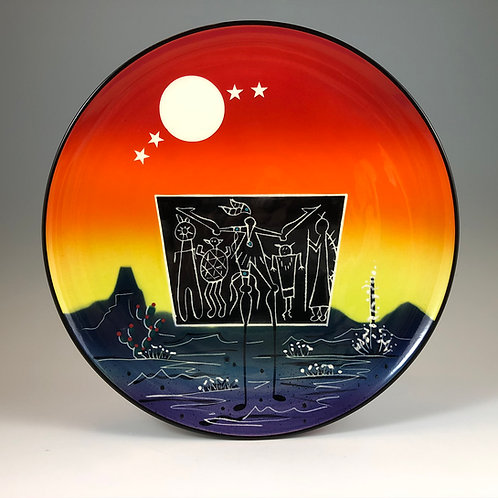 Full Moon Meeting Plate