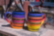 Multistripe Mugs