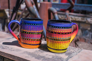 Multistripe Mugs