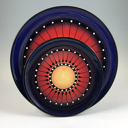 Black Stripe Plate Style #1