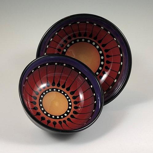 Black Stripe Bowl Style #6