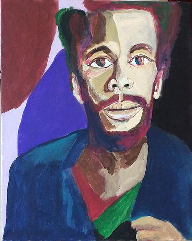 Biko Eisen-Martin Painting
