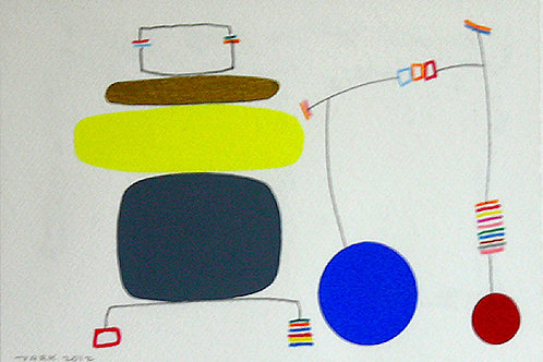 Work-on-paper 12-2 (Framed)