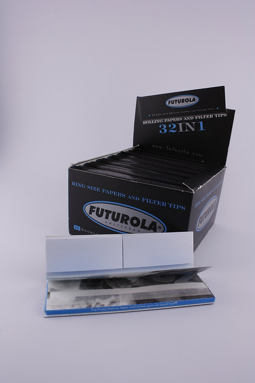 FUTUROLA Blue & Filter 32in1 King Size