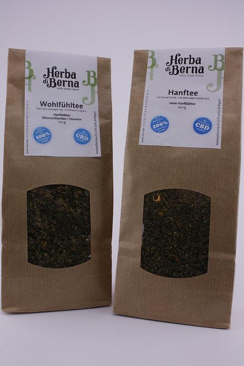 Herba Teebox mit 2 Sorten Tee à 50g
