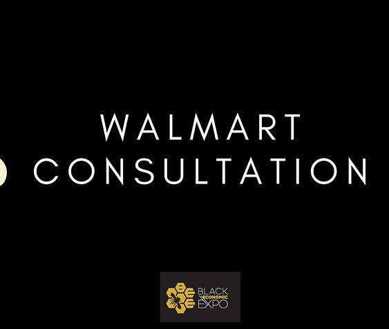 Walmart Consultation