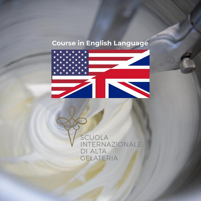 Basic introduction course to artisanal gelato (1 week)