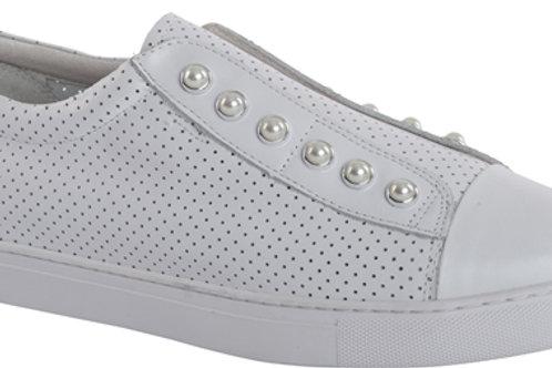 White Pearl Perf Shoe
