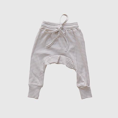Fawn Stripe Harem Pants