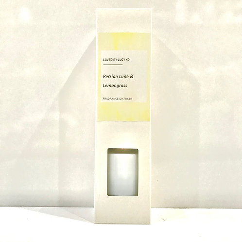 Loved by Lucy Persian Lime & Lemongrass Diffuser