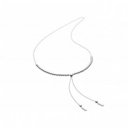 Silver Bodhi Necklace