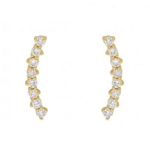 Gold Arabella Earring
