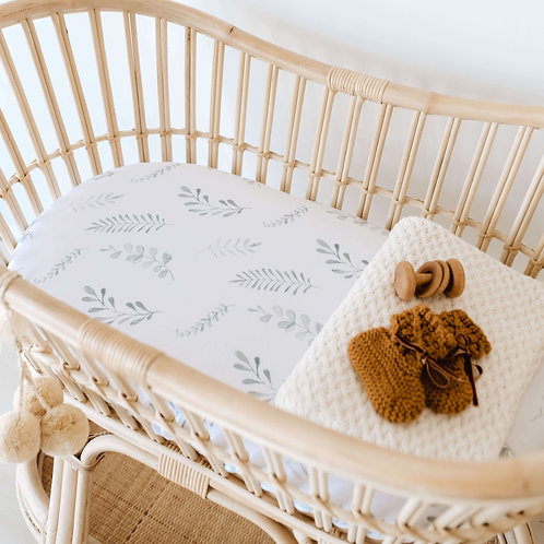Bassinet/Change Pad Cover - Wild Fern