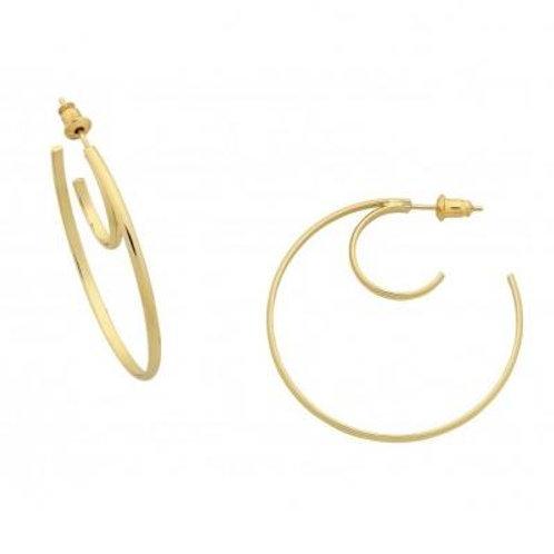Gold Margo Hoop Earring
