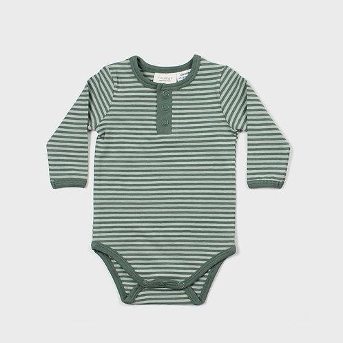 Seafoam Long Sleeve Bodysuit