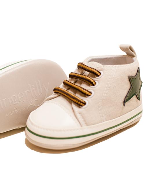 Baby Boy Beige Shoe