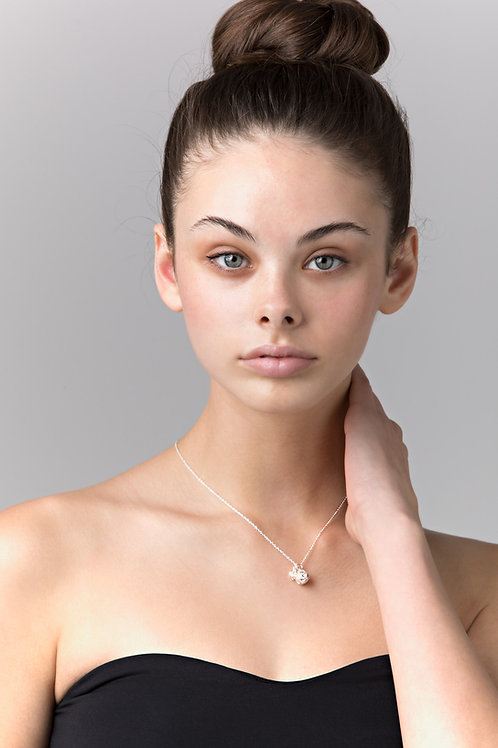 Silver Olive Necklace
