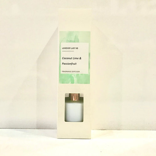 Loved by Lucy Coconut, Lime & Passionfruit Diffuser
