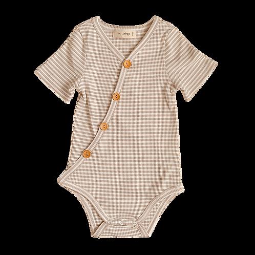 Fawn Striped Bodysuit