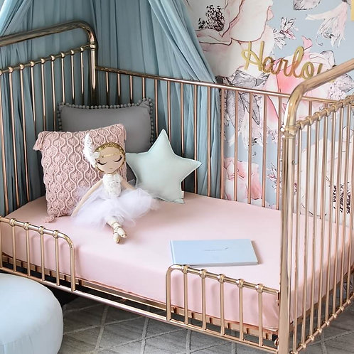 Cot Sheets - Lullaby Pink