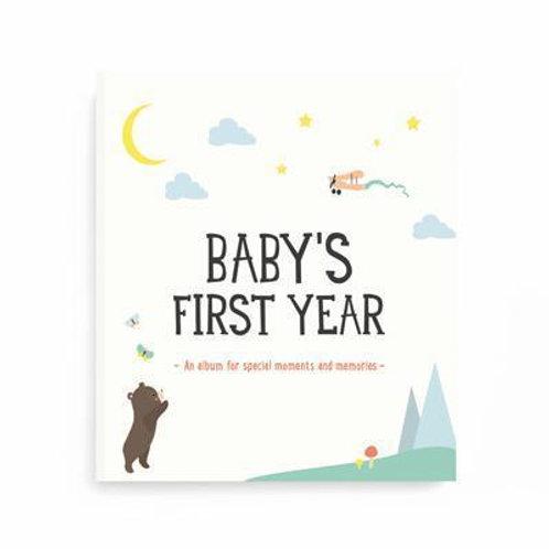 Baby First Year Album