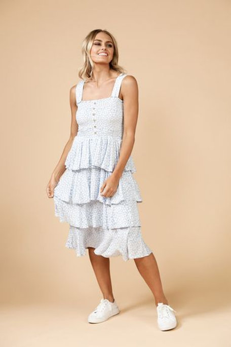 Copacabana Ruffle Dress