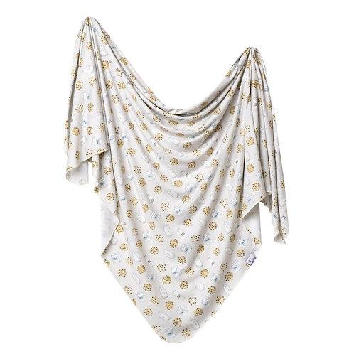 Knit Swaddle Blanket Chip
