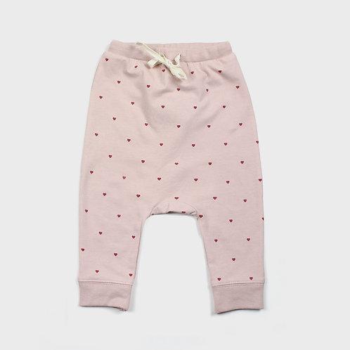 Young Heart Drawstring Pants