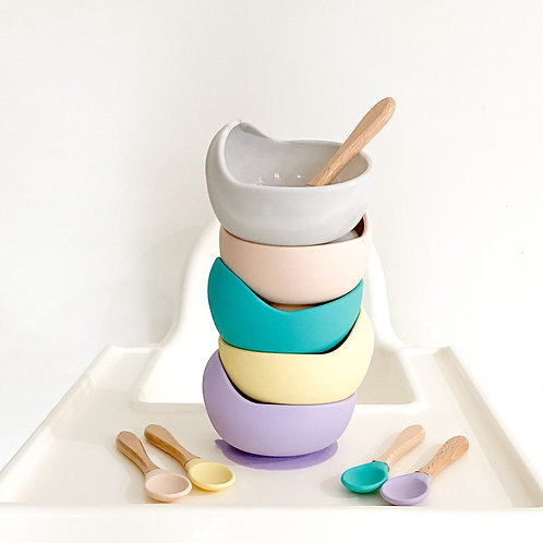 Suction Bowl and Spoon